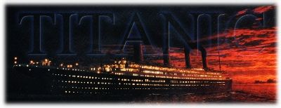 The RMS Titanic steams west